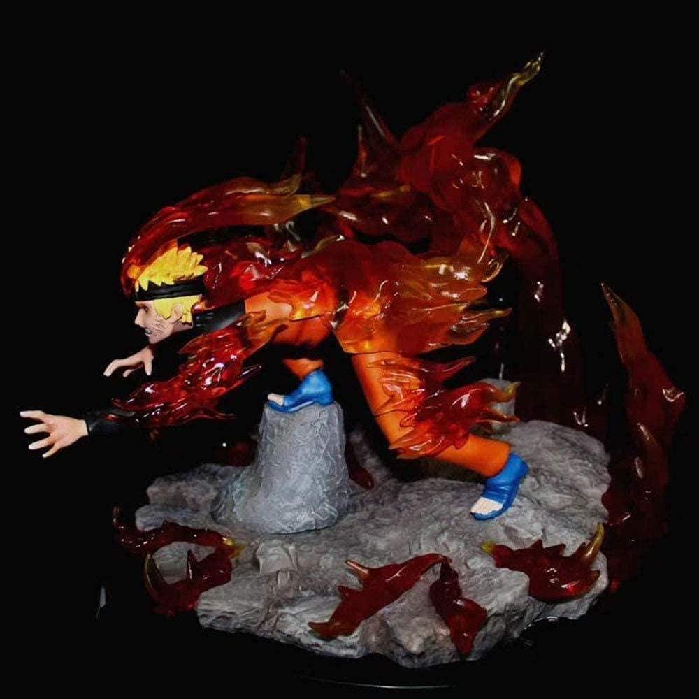 Anime 100% quality warranty Uzumaki GK Jacksonville Mall Monster with Two Model Tails Statue Han Fox Box