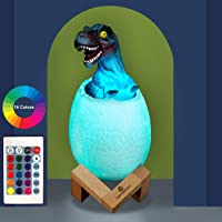 easuntec 3D Dinosaur Lamp with Stand & Remote