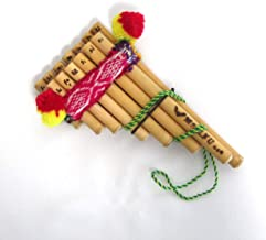 【ZAMPONIA ZA01 NATURAL】アソート ペルー民芸品のミニ・サンポーニャ (6管+7管)ナチュラル色材質は葦小さいお子様におすすめ。