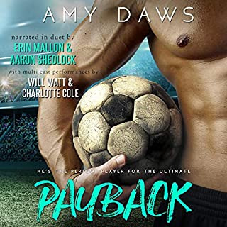 Payback: A Hot Sports Romance audiobook cover art
