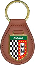 Amaya Family Crest Coat of Arms Key Chains