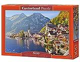 Castorland Hallstatt, Austria 500 pcs Puzzle - Rompecabezas (Austria 500 pcs, Puzzle Rompecabezas, Paisaje, Niños y Adultos, Niño/niña, 9 año(s), Interior)