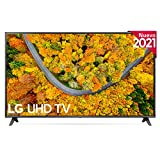 LG 75UP7500-ALEXA 2021-Smart TV 4K UHD 189 cm (75') con Procesador Quad Core, HDR10 Pro, HLG, Sonido Virtual Surround, HDMI 2.0, USB 2.0, Bluetooth 5.0, WiFi