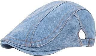 Classic Adjustable Newsboy Cap Jeans Ivy Flat Hat