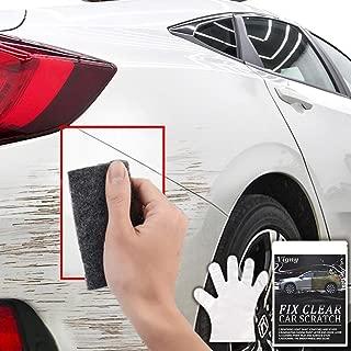 車 きず消し カースクラッチ修復布 クロス,カー ポリッシング コンパウンドワックス布 簡単 傷・スクラッチ,Vigny 自動車表面スクラッチ修復傷, ペイント スクラッチ 修復布 を除去, 多目的 修理 ポリッシュ ライトペイント スクラッチ ナノテクノロジー カー修理キット