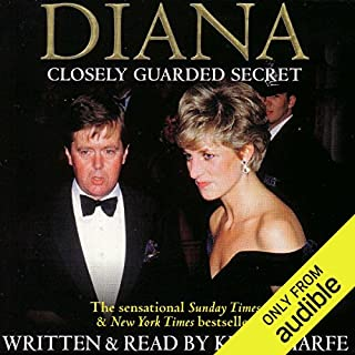 Diana: Closely Guarded Secret audiobook cover art