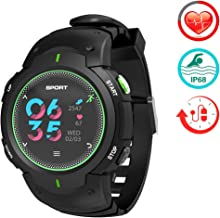 ZLI Multi-functional Fitness Tracker IP68 Waterproof  with Heart Rate Monitor Calorie Step Counter and Camera Remote-control for kids Women Men