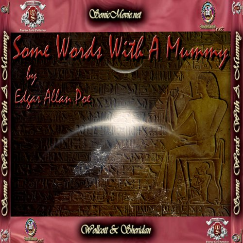 Some Words With A Mummy audiobook cover art