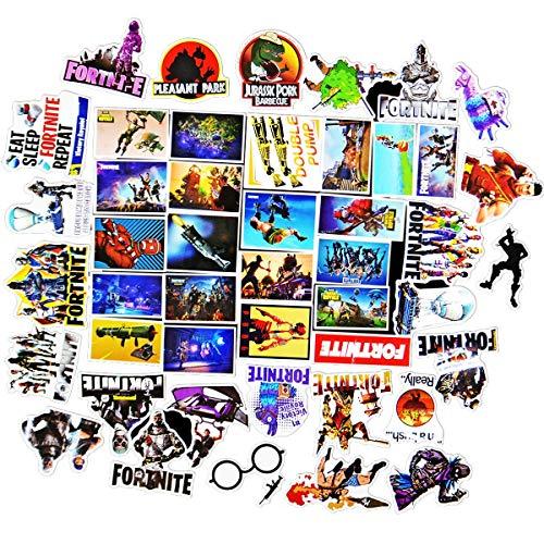 Aufkleber Pack 46 Stücks Vinyl Aufkleber Stickers Graffiti Style Decals Stickers für Skateboard Auto Motorrad Laptop Macbook Gepäck Stoßfänger Patches Snowboard Macbook Schalter Sticker Wasserdicht