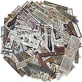 120 Piezas Pegatinas Washi Vintage para Scrapbook Calcomanías Decorativas Antiguas para Diario...