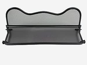 Just Roadster Wind Deflector fits BMW Mini F57 2015-onwards  curved design  Mesh Black