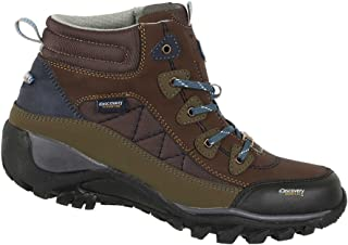 Discovery Expedition Womens Rugged Outdoor Mid Hiking Backpacking Boot Lace-Up