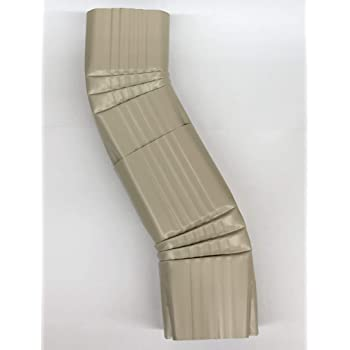Near 90degree Gutter Elbow Aluminum 3x4 Wicker Amazon Com