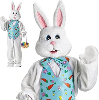 FunWorld Adult Easter Bunny Mascot Costume