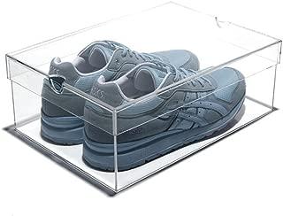 Best glass shoe case Reviews