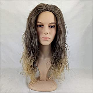 Synthetic Hair Cosplay Wig Aquaman Performances Costume Arthur Curry Cosplays-in Synthetic None,brown Ombre,28inches