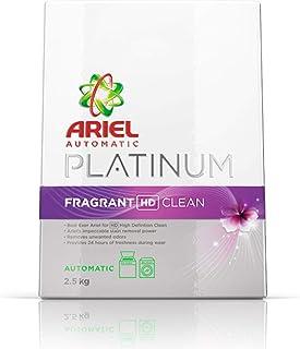 Ariel Green Automatic Platinum Fragrant HD Clean Washing Powder, 2.5 kg