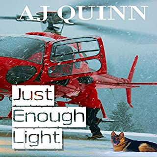 Just Enough Light audiobook cover art