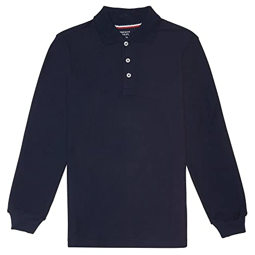 829444f1 French Toast Boys' Long-Sleeve Pique Polo Shirt