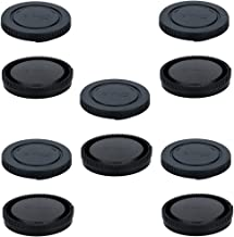 5 Pack Body Cap and Rear Lens Cap Cover Kit for Sony Alpha and NEX Series E-Mount Camera & Lens for Sony A7 A7II A7III A7S A7SII A7R A7RII A7RIII A7RIV A6600 A6500 A6400 A6300 A6100 A6000 A5100 A5000