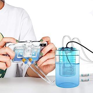 冷却水循環 水冷式 瞬間30度下げる 25g スマホ 冷却チラー Mobile スマホゲーム 配信専用 冷却クーラー 携帯電話ラジエーター USB給電 静音 スマホ熱対策 伸縮クリップ式 Android 対応