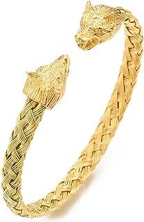 Best gold viking bangle Reviews