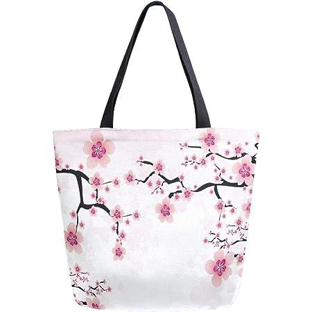 Cherry Blossom Unicorn Tote Bag Sakura Japanese Style Gift