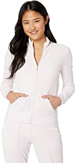 Juicy Couture Black Label Women's Velour Fairfax Fitted Jacket