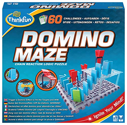 Think Fun - Domino Maze (76373) , color/modelo surtido