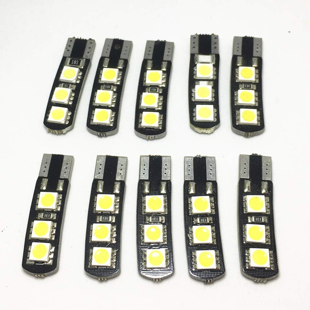 10pcs W5W 6 SMD 5050 low-pricing LED Finally resale start T10 Car Ligh 168 Interior Bulbs 194