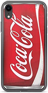 iPhone XR Pure Clear Case Cases Cover coca-cola can
