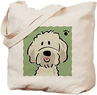 CafePress Goldendoodle Natural Canvas Tote Bag, Reusable Shopping Bag