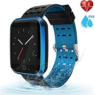 moreFit Fitness Tracker Smart Watch, IP68 Waterproof...
