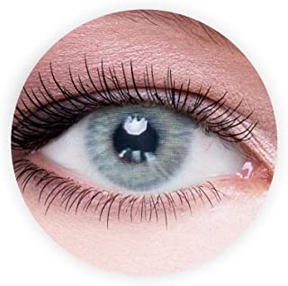 Dahab Sky Contact Lenses, Unisex Dahab Cosmetic Contact Lenses, 9 Months Disposable- Natural and Beauty Collection, Sky (G...