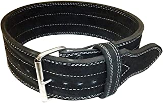 Flexz Fitness Single Prong Closure Powerlifting and Weightlifting Belt, 10mm