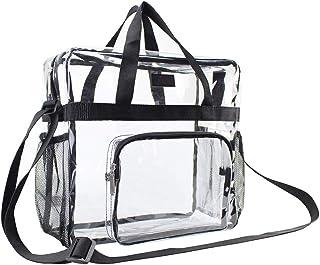 ZHINTE Handtaschen Umhängetaschen Tragbare transparente Schulter Umhängetasche Tote Satchel Handtasche für Damen Lady