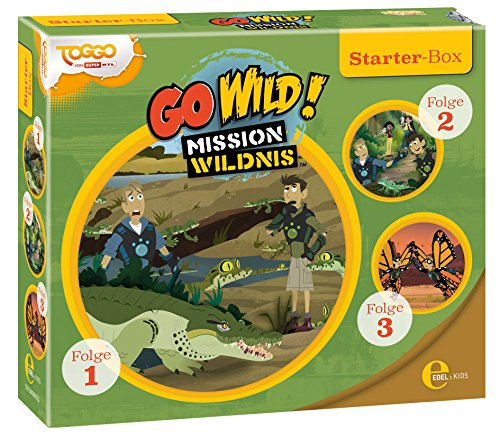 Go Wild! - Mission Wildnis - Starter-Box (Folge 1-3)