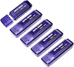 Micro Center SuperSpeed 5 Pack 64GB USB 3.0 Flash Drive Gum Size Memory Stick Thumb Drive Data Storage Jump Drive (64G 5-P...