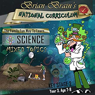 Brian Brain's National Curriculum KS2 Y3 Science Mixed Topics cover art