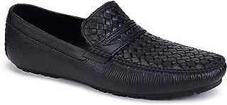 SWIGGY Formal Shoes, Slip On Office Shoe, Shoe, Party Shoe, Shoe, Lace Up Shoe, Derby Shoe,Light Weight Comfortable Shoe for Men's/Boy's (Black-2216)