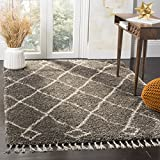 Safavieh MFG241A Grey and Cream Area Rug, 8' x 10'
