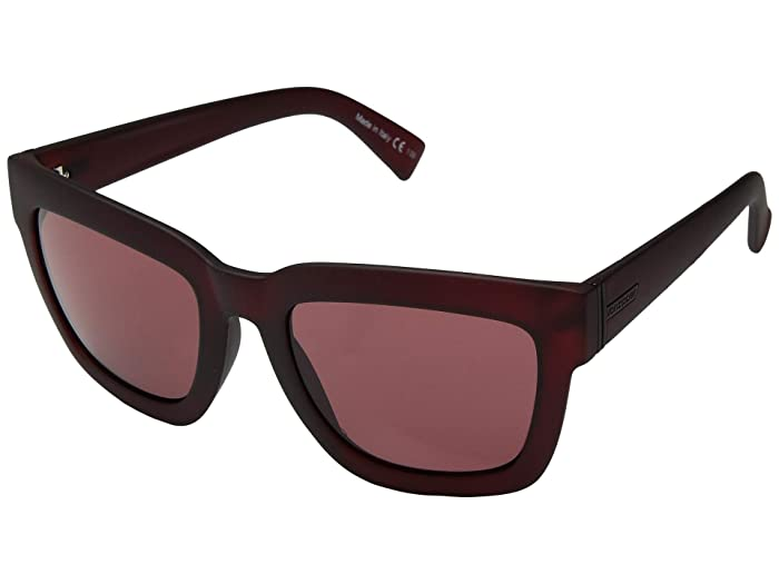 VonZipper Juice (Plum Satin/Grey/Rose) Sport Sunglasses