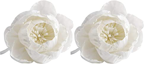 """2 Lotus Flower 4"""" Sola Flower with Cotton Wick for Home Fragrance by plawanature"""
