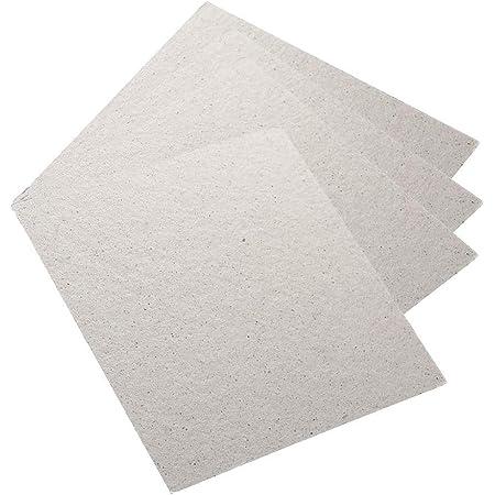 Ububiko 4 pièces plaques de mica pour Micro-Ondes Feuille de mica Universelle pour Fours à Micro-Ondes 13 x 13 cm, Ensemble de plaques de Remplacement de mica