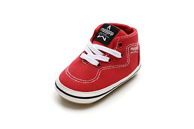 8e7af7d0759436 BENHERO Baby Boys Girls Canvas Toddler Sneaker Anti-Slip First Walkers  Candy Shoes 0-24 Months 12 Colors