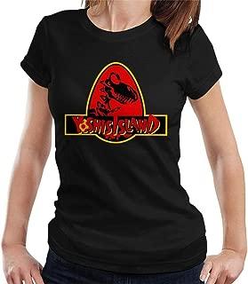 Super M-Ario Yoshis Island Jurassic Park Mix Women's T-Shirt
