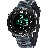 Bromen Digital Sports Waterproof Military Men's Watch (camouflage)