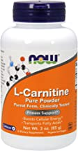 NOW Supplements, L-Carnitine (L-Carnitine Tartrate) Pure Powder, Boosts Cellular Energy, Amino Acid, 3-Ounce