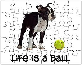 CafePress - Boston Terrier Life - Jigsaw Puzzle, 30 pcs.