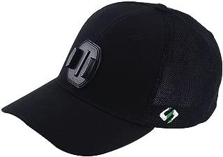 Mesh Baseball Hat Compatible for GoPro Hero 5 Session, Hero 8/7/6/5/4/3+/3/2/1/DJI OSMO Action Cameras (L 58-60cm) Black
